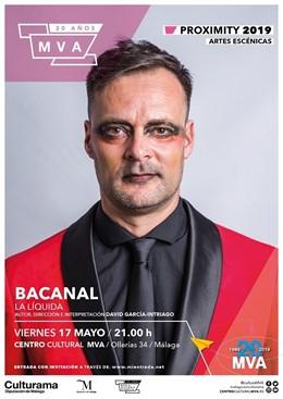 Málaga.- El Ciclo Proximity une humor, teatro y música en su nueva obra 'Bacanal' que acogerá el Centro Cultural MVA