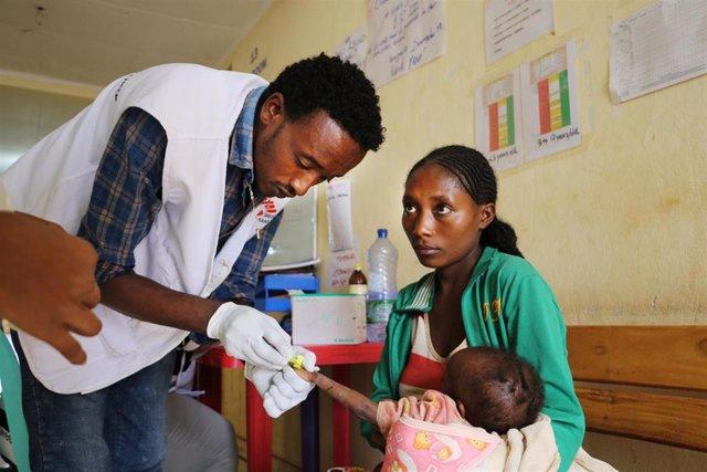 """Etiopía.- Los niveles de desnutrición en el sur de Etiopía llegan a niveles """"alarmantes"""", según alerta MSF"""