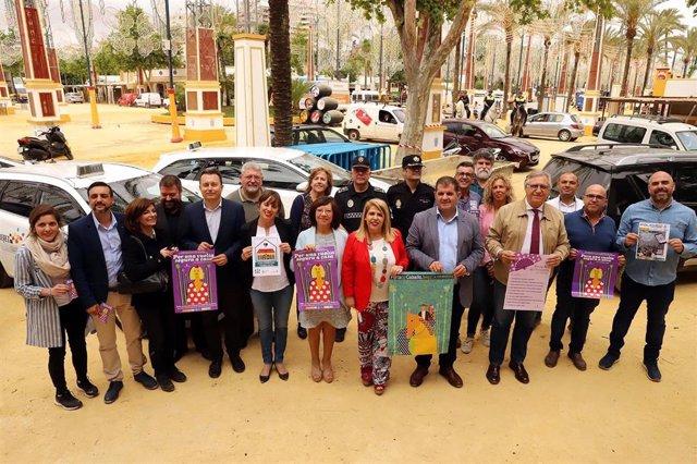 """Cádiz.-La Feria del Caballo de Jerez contará con un servicio de acompañamiento a mujeres para """"una vuelta segura a casa"""""""