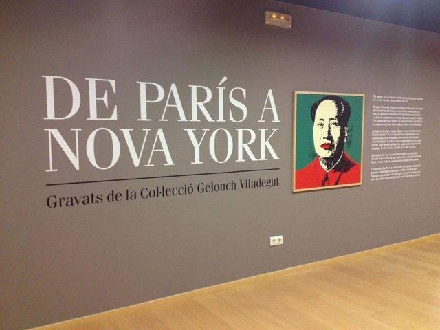 El Museu d'Art de Cerdanyola acull un viatge per l'art de París a Nova York
