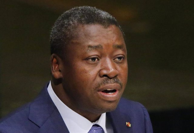 El presidente de Togo, Faure Essozimna Gnassingbe