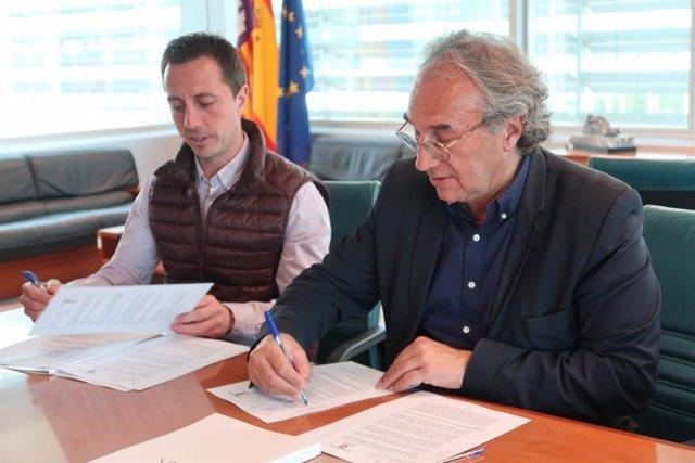 Educación y Ayuntamiento de Santanyí firman un convenio de colaboración para mejorar las infraestructuras educativas