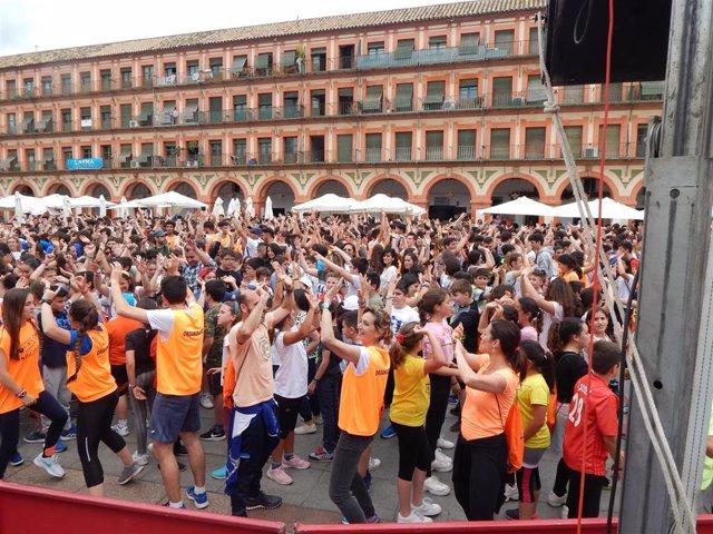 Córdoba.- Educación.- Más de 1.600 estudiantes participan en la quinta edición de 'Educación se Orienta al Deporte'