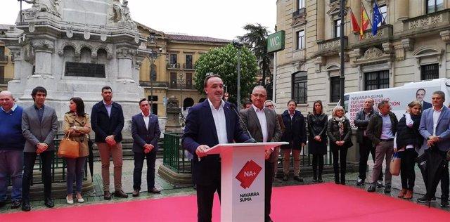 """26M.- Navarra Suma Se Presenta Como El """"Futuro En Positivo"""" Y La """"Única Alternativa Al Cuatripartito"""""""