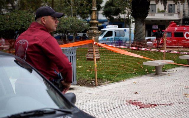 Detenido un hombre tras el ataque contra Héctor Olivares, herido tras ser tiroteado junto al Congreso