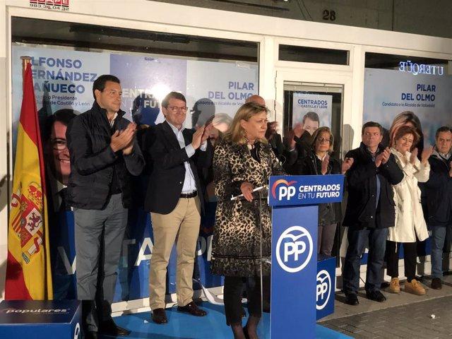 """26M.- Del Olmo Defiende Su """"Honradez, Trabajo Y Gestión"""" Frente A Un PSOE Que """"No Merece Estar En El Ayuntamiento"""""""