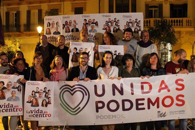 """Unidas Podemos en Ibiza anima a los ciudadanos a participar en unas elecciones """"de gran importancia"""""""