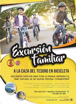 """Sant Josep impulsa actividades para potenciar el turismo de familia """"deportivo y saludable"""""""