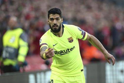 Luis Suárez, entre cuatro y seis semanas por la lesión en el menisco de la rodilla derecha