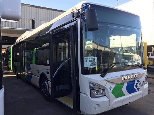 El segundo de los 100 nuevos autobuses de la EMT procedentes de Lyon llega a Alcúdia