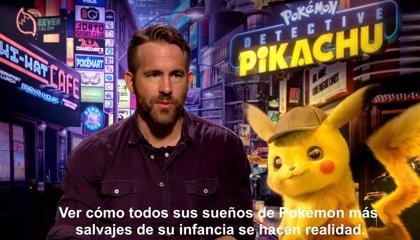 """Ryan Reynolds: """"Detective Pikachu hace realidad los sueños de infancia de los fans de Pokémon"""""""