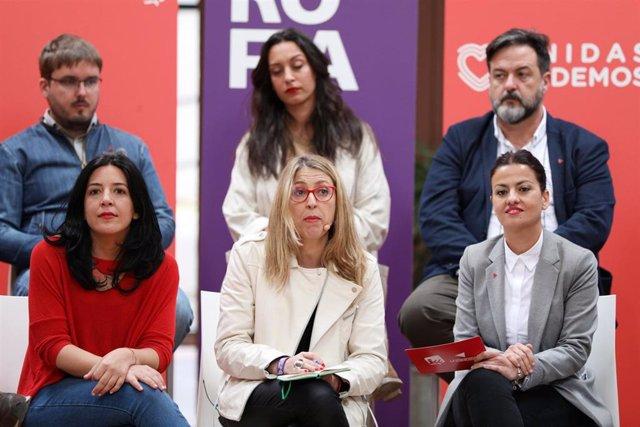"""VÍDEO: Unidas Podemos hará frente a la extrema derecha y """"desenmascarará el neofascismo"""" con su candidatura europea"""