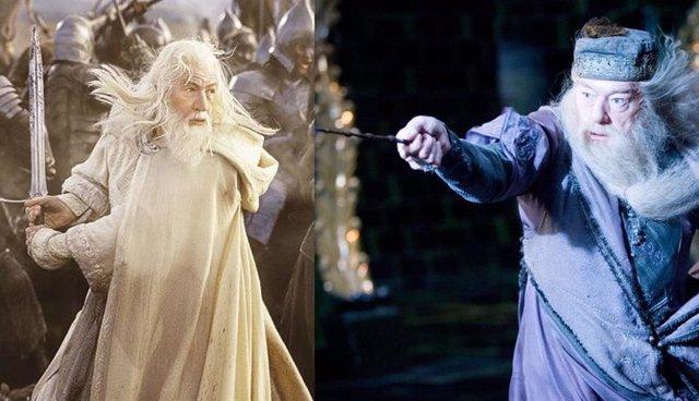 """George R.R. Martin, autor de Juego de tronos: """"Gandalf patearía el culo de Dumbledore"""""""