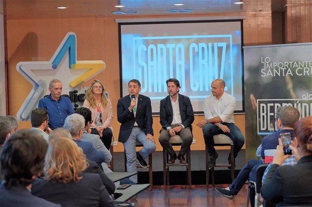 26M.- Bermúdez (CC) Destaca Al Comercio Y La Restauración Como Motores De La Creación De Empleo En Santa Cruz