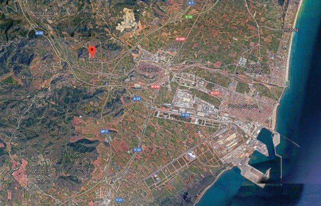 Valencia.- Sucesos.- Investigan el hallazgo de un cadáver en una casa abandonada de Petrés