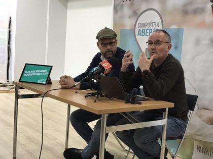 Compostela Aberta invita a PP, PSOE y BNG a posicionarse sobre la remunicipalización del servicio de agua