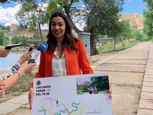 26M.- Claudia Alonso Propone Poner En Marcha Un 'Cinturón Verde Del Tajo' Que Una Parques Y Zonas Verdes