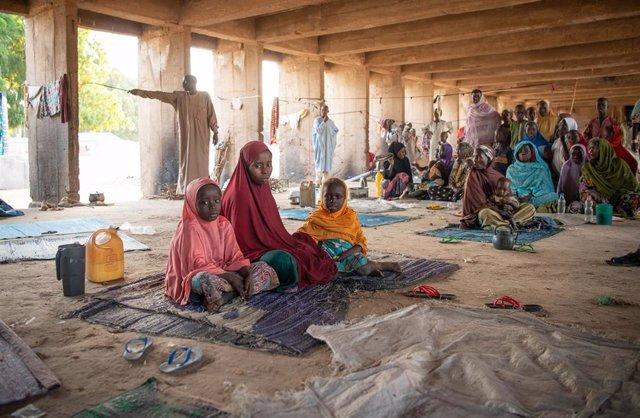 DDHH.- Nuevo récord de desplazados por las guerras y la violencia en el mundo: 41,3 millones