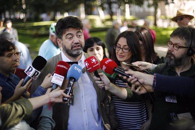 2Mayo.- Sánchez Mato se reivindica como la izquierda real y apela a los votantes de Podemos a confiar en Madrid en Pie