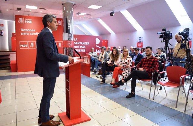 """26M.- Zuloaga Dice Que """"La Mejor Encuesta"""" Fue La Del 28A Y Asegura Que El PSOE Sale A """"Repetir"""" Esos Resultados"""