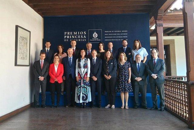 Reunión del jurado del Premio Princesa de Asturias de los Deportes 2018