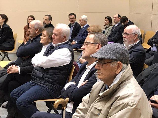 Agapito Iglesias y Carlos Escó han asistido al juicio oral.