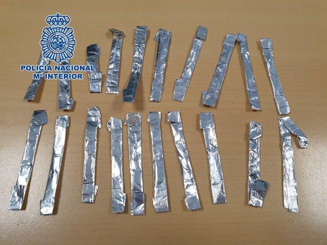 Granada.- Sucesos.- Detenido un menor en Motril cuando presuntamente portaba 20 envoltorios de cocaína