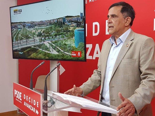 """Serrano: """"Dotaremos a Murcia de un recinto ferial propio del séptimo municipio de España"""""""