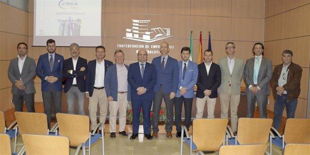 """Empresarios andaluces inmobiliarios abordan la """"positiva"""" situación del sector en la asamblea general de Unexia"""