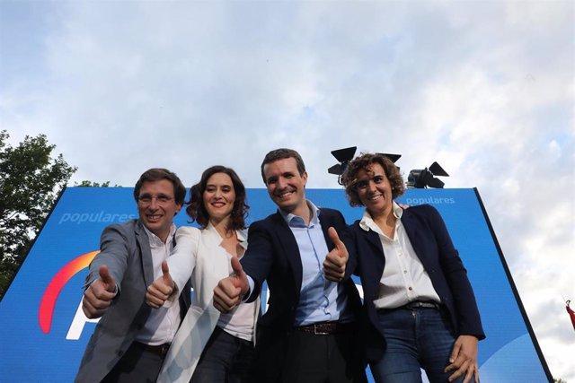 """Casado pide a Sánchez que deje de """"hacer gestos"""" al independentismo porque """"no s"""