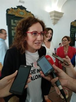 """26M.- Nuria López (CCOO-A) Llama A Los Trabajadores A Votar Por """"Una Europa Más Abierta E Inclusiva"""""""