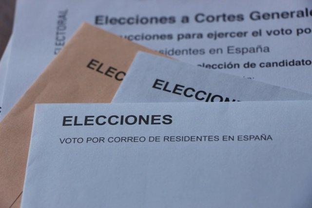 28A.- La Comunitat roza las 190.000 peticiones de voto por correo, que se multiplican por tres respecto a 2015