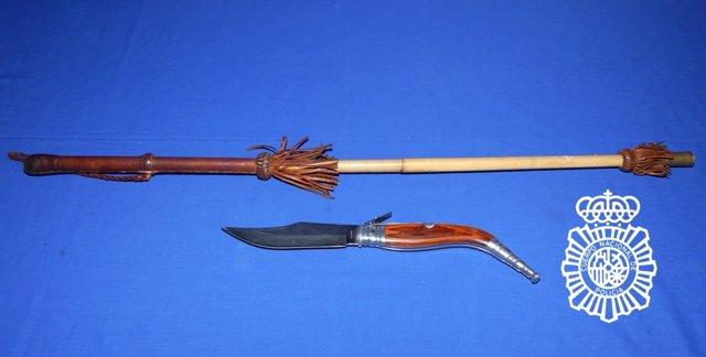 Sucesos-Detenidos dos jóvenes, uno menor, por agredir con un bastón y amenazar con una navaja a un camarero en Salamanca