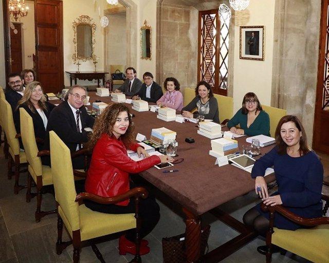 Consell.- El Govern rep la Memòria 2918 de l'Oficina de Defensa dels Drets del Menor de Balears