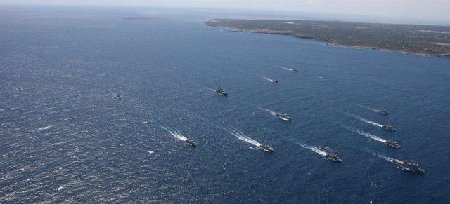 Concluye en Porto Pí el ejercicio internacional 'ESP MINEX-19'