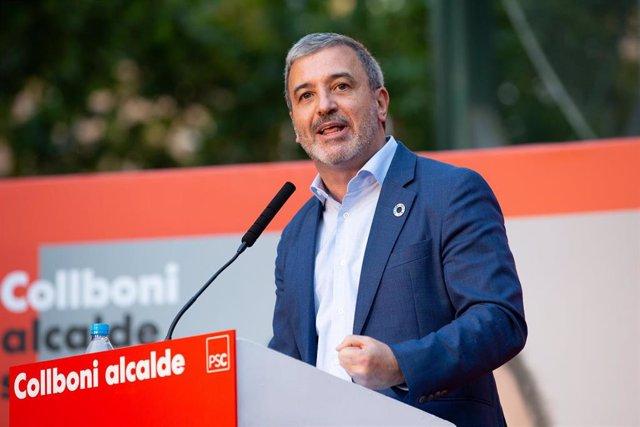 Acto de inicio de campaña del PSC en Barcelona