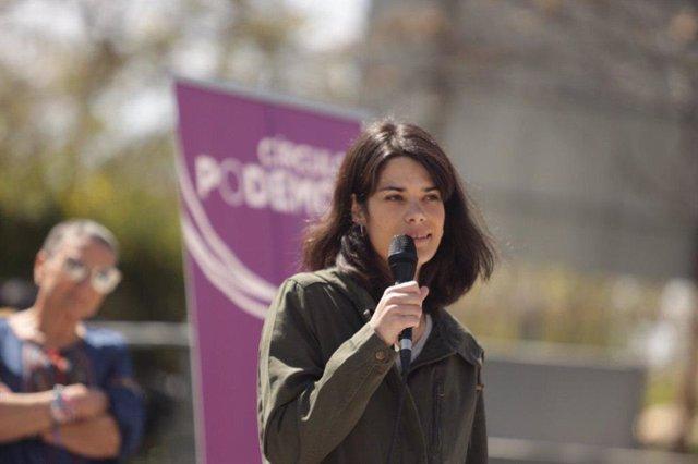 """26M.- Isabel Serra defiende que las fuerzas """"extraparlamentarias"""" se acojan a los criterios de la Junta Electoral"""