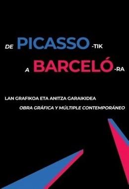 El centro Okendo de San Sebastián acoge una muestra de obra gráfica de 23 artistas contemporáneos como Picasso o Barceló