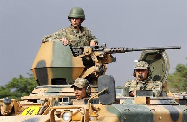"""Turquía.- Turquía anuncia la """"neutralización"""" de tres presuntos miembros del PKK en el sureste del país"""