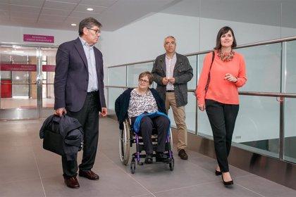 Aliaga (PAR) visita DFA y se compromete a desarrollar una nueva ley de discapacidad