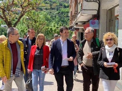 """Caballero (PSdeG) augura que el PP se llevará """"un batacazo"""" igual que el 28A al volver a apostar por Rajoy en campaña"""