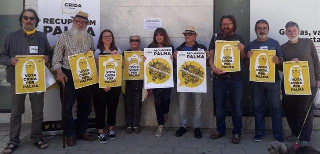 """26M.- Crida Per Palma Empieza La Campaña Electoral Censurando Los Precios """"Inaccesibles"""" Del Alquiler En La Ciudad"""
