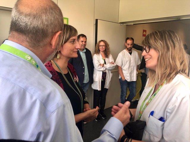 Salud Pública compartirá espacios con el Hospital de Olot