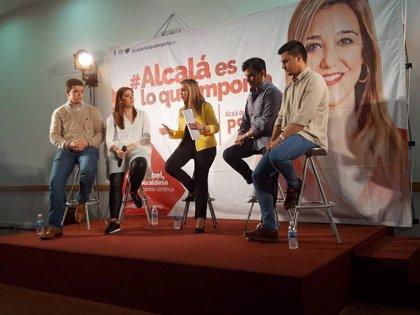 """26M.- El PSOE aspira a revalidar la Alcaldía de Alcalá con más espacios deportivos y un """"anillo cultural"""""""