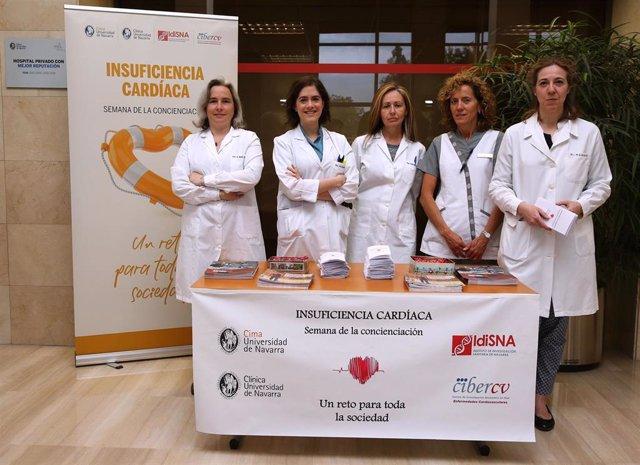 El Cima y la Clínica Universidad de Navarra informan sobre los principales síntomas de la insuficiencia cardiaca