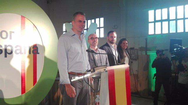 """26M.- Ortega Smith quiere devolver la """"libertad"""" a Madrid, sin """"Gürtel, Púnica"""" ni barrios con inmigrantes ilegales"""