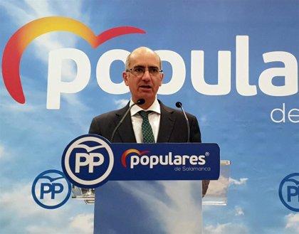 """Iglesias (PP) confía en que los resultados en CyL sirvan de """"dique de contención"""" contra las políticas de Sánchez"""