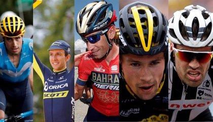 Landa, Yates, Nibali, Roglic o Dumoulin, 'gallitos' de un Giro con mucha montaña y 'cronos'