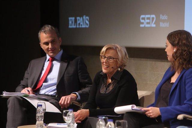 Carmena entiende que Iglesias quiera entrar en un gobierno de coalición y destaca de él sus reivindicaciones sociales
