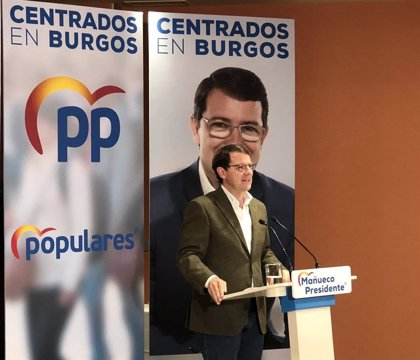 """Mañueco traslada el """"cariño"""" del PPCyL a PSOE y familia de Pérez Rubalcaba"""